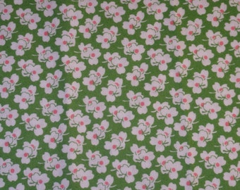 """Quilting Cotton, Shamrocks, by Windham Fabrics, """"A is for ..."""", Woven Cotton Fabric, 2/3 Yard"""
