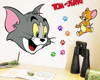 Tom & Jerry Nursery Sticker wall decal