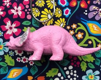 Plastic Dinosaur Necklace