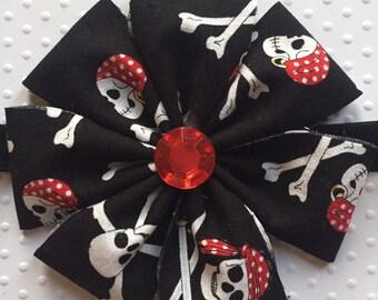 Pirate Flower Headband
