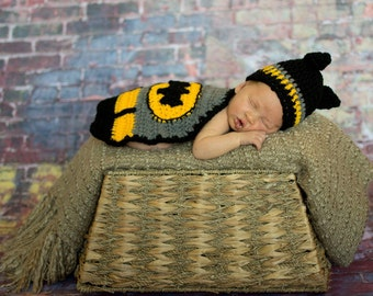 Superhero BATMAN baby photo prop