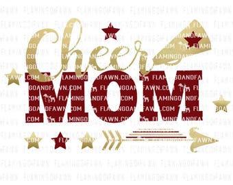 cheer mom svg, cheer svg, coach svg, svg cheer mom, cheerleading mom svg, cheerleader svg, svg files, pom pom svg, cheer mom dxf