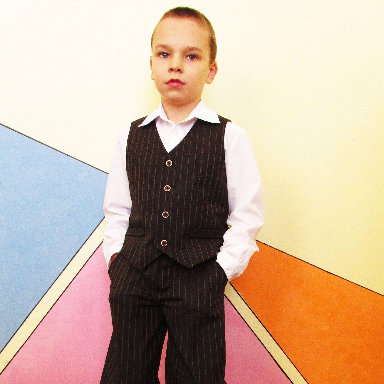Waistcoat for boy sewing pattern waistcoat for boys and zoom jeuxipadfo Choice Image