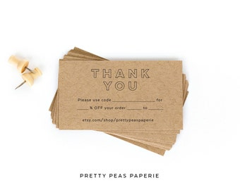3x2 shop local business card stamp clear diy 3x2 thank you coupon business card stamp clear diy custom reheart Gallery