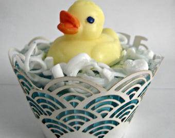 Rubber Duck Cupcake Soap