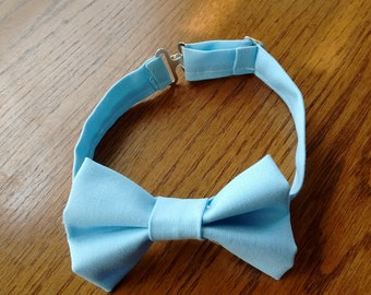 Baby Bow Tie, Blue Bow Tie, Easter Boy Tie