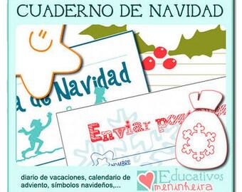 Cuaderno de Navidad para niños -español-