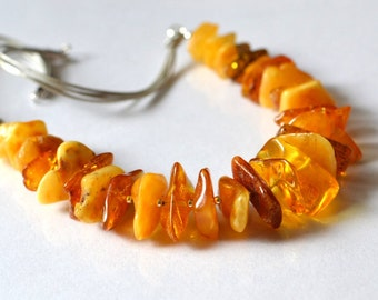 Baltic Amber Necklace Natural Amber Jewelry Organic Harmony Nature