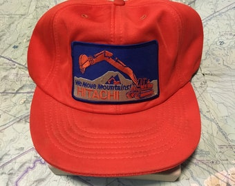 Your Dads Hats: Vintage Hitachi Trucker Hat