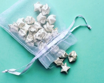 Origami wedding favour/ gift orgiami lucky stars