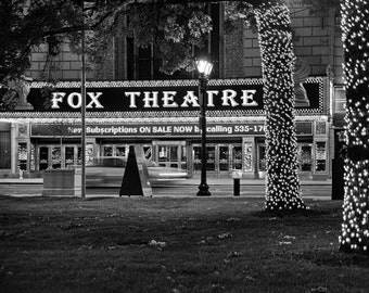 Fabulous Fox Theatre in St Louis Art Print Photo