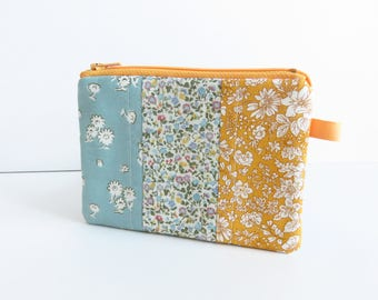 Liberty Quilting Cotton Mini Panel Patchwork Purse