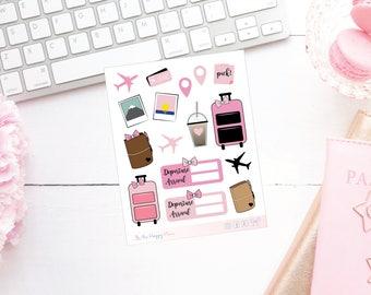 Traveller Planner Stickers