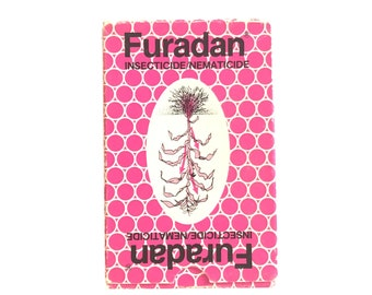 Vintage Furadan Pesticide Playing Card Deck
