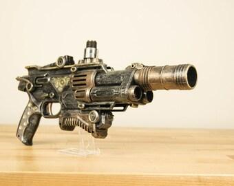 Steam Punk Gun Pistol Blaster (Steam Punk, Blaster, Victorian)
