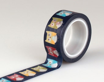 Echo Park Paper Co. Decorative Tape - Owls