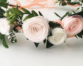 Floral Wreath Crown