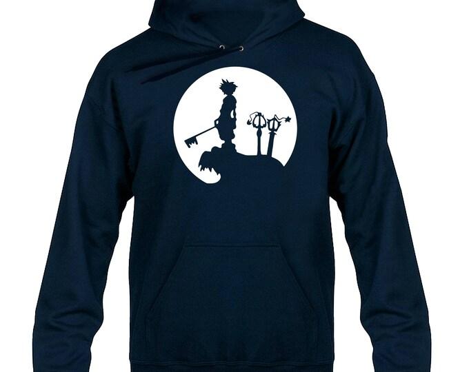 Sora Full Moon Silhouette Hoody Hoodie Hooded Sweater