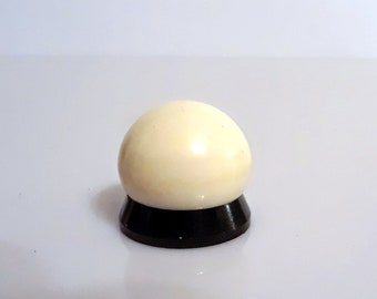 Antique Art Deco Bakelite 1920s Iles d'Or by Molinard Concreta Vintage Hand Painted Catalin Galalith Solid Perfume Pot