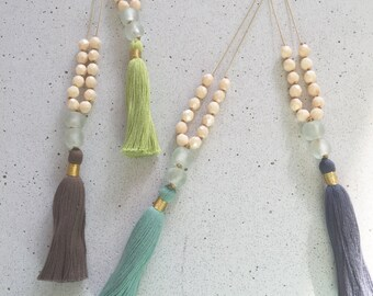 The Renee Tassel Necklace