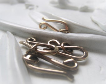 Gold Hook Clasp Brass Hook and Eye Closure Item No.3440  2492 7455