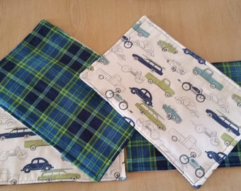 reversible placemats set of 4
