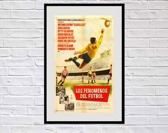 Reprint of a Mexican Soccer Poster