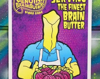 Brain Butter Cook Print