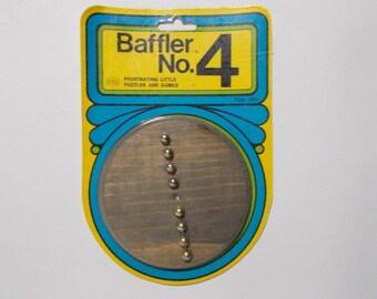 Reiss Games Baffler No.4 Brain Teaser Wood Game 1974 Sealed NOS