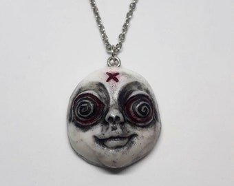 Hypnotized Horror Necklace Pendant