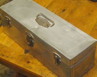 Chrome Toolbox , 1940's Toolbox , Union Toolbox