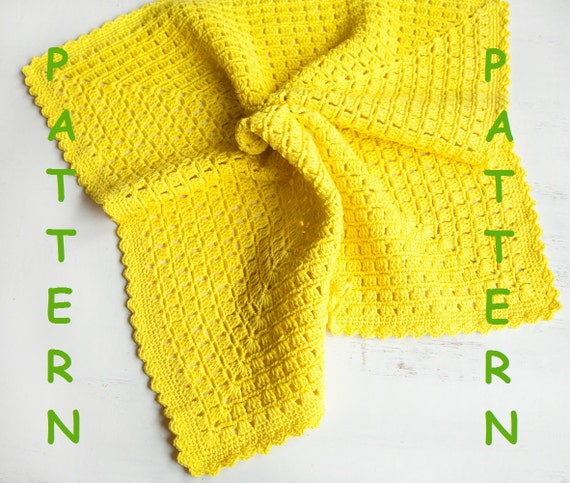 Crochet Free Pattern Promotion Shop For Promotional: Crochet Baby Blanket Promo Price Pattern