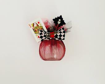 Queen of Hearts Wish Jar