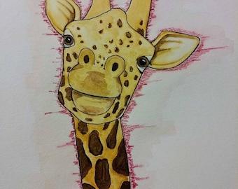 Franklin the Giraffe