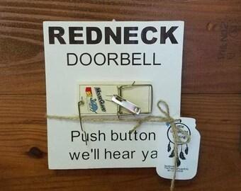 Man Cave Gag Gifts : Redneck doorbell etsy