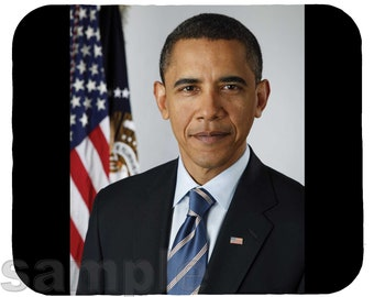 Mouse Pad; President Barack Obama Mp2