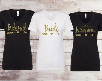 Bride   Bridesmaid   Maid of honor