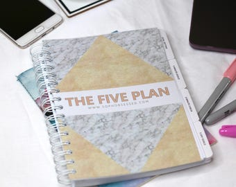 The Five Plan - Goal Setting Planner
