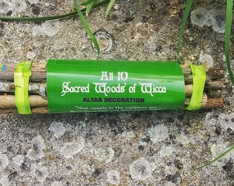 10 Sacred woods found in the wiccan rede, Sacred Woods altar decor, Beltane celebrations, wiccan May Day rituals and as pagan altar decor