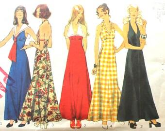 Halter/Sailor Dress  Bust 32.5 Simplicity 5349