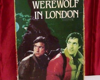 American Werewolf in London VHS