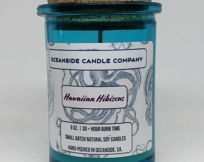 Hawaiian Hibiscus - 6 oz Soy Candle