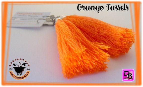 Boucles d'oreilles [Orange Tassels]