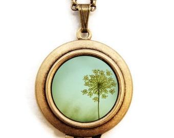 Simplexity - Photo Art Locket Necklace - Collaboration with Irene Suchocki