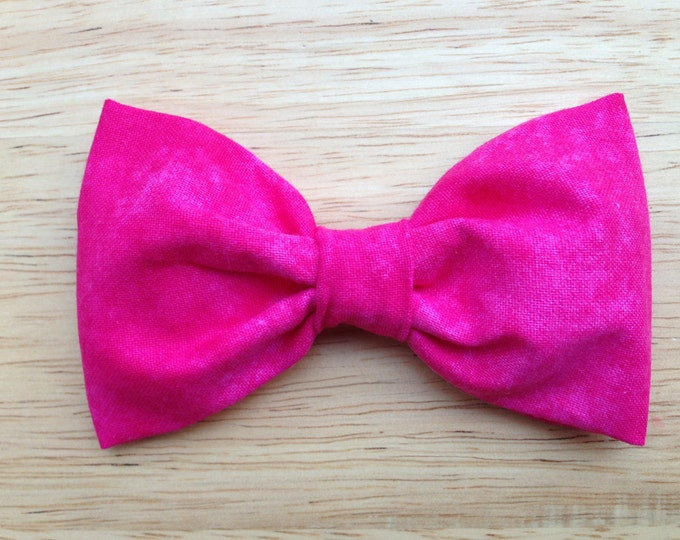 Fabric hair bow - fabric bows, hair bows, bows, hair clips, hair bows for girls, hairbows, hair bows for teens, girls hair bows, womens bows