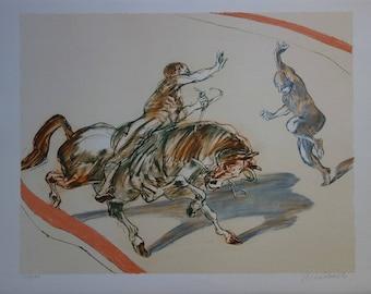 Claude WEISBUCH: Zingaro - original lithograph
