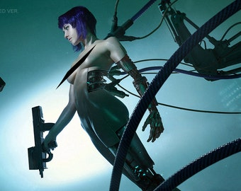 Ghost in the Shell Cosplay Print