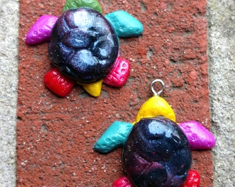 Cosmic Turtle Necklace