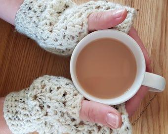 V Stitch Fingerless Gloves, V Stitch Fingerless Gloves Crochet Pattern, Fingerless Gloves Pattern, Instant Download, Digital PDF Pattern