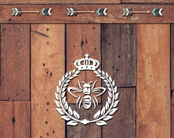 Queen Bee Decal | Yeti Decal | Yeti Sticker | Tumbler Decal | Car Decal | Vinyl Decal